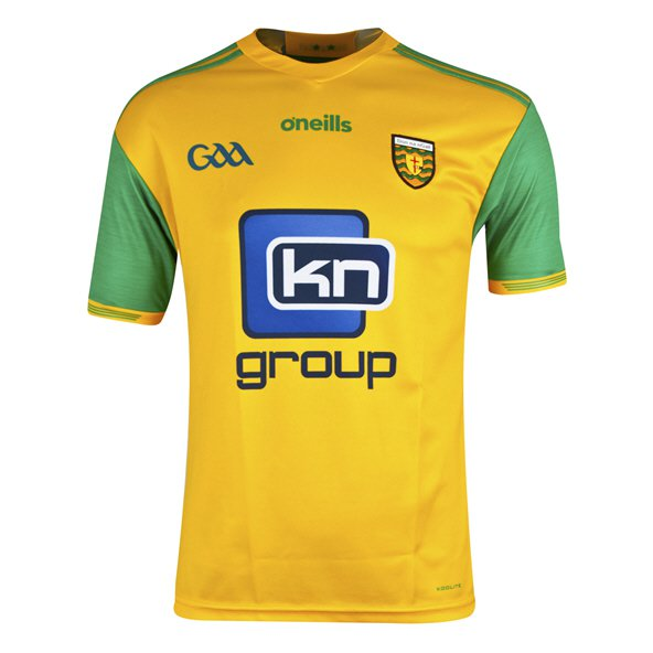 O'Neills Donegal 2018 Home Player Fit Jersey, Yellow
