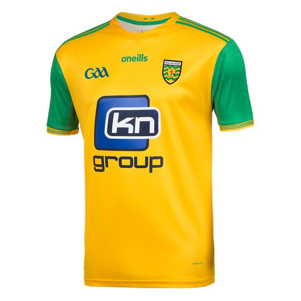 O'Neills Donegal 2018 Kids' Home Jersey, Yellow