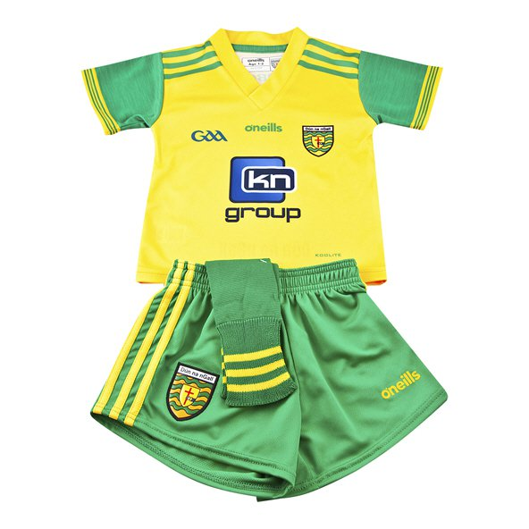 O'Neills Donegal 2018 Kids' Home Kit, Yellow