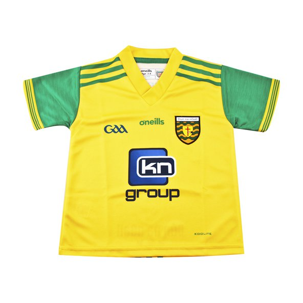 O'Neills Donegal 2018 Infant Home Jersey, Yellow