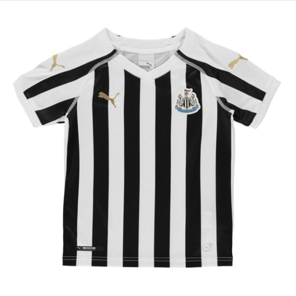 Puma Newcastle Home 18 Kids Jersey Black