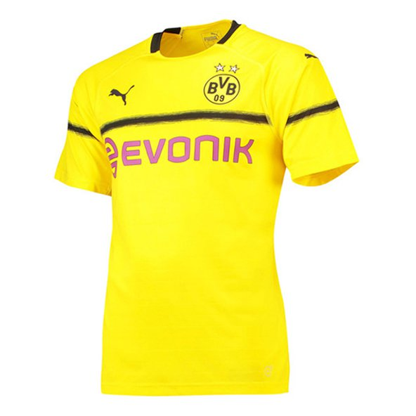 Puma BVB Cup 18 Kids Jersey Yellow