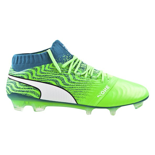 Puma ONE 18.1 FG Football Boot, Green