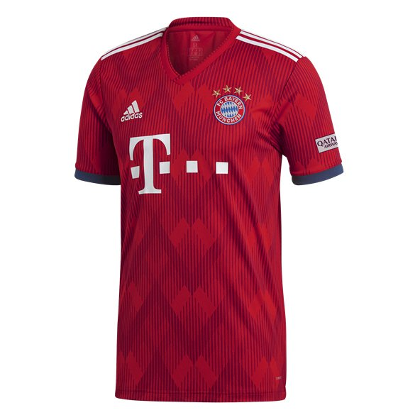 adidas Bayern Munich 2018/19 Home Jersey, Red