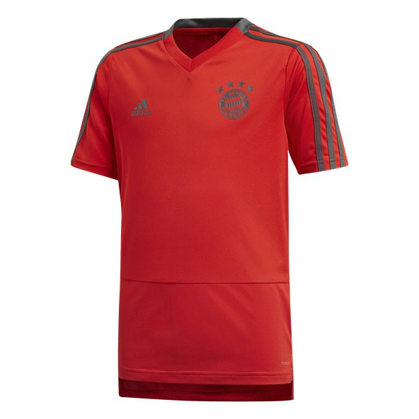 adidas Bayern Munich 2018/19 Kids' Training Jersey, Red
