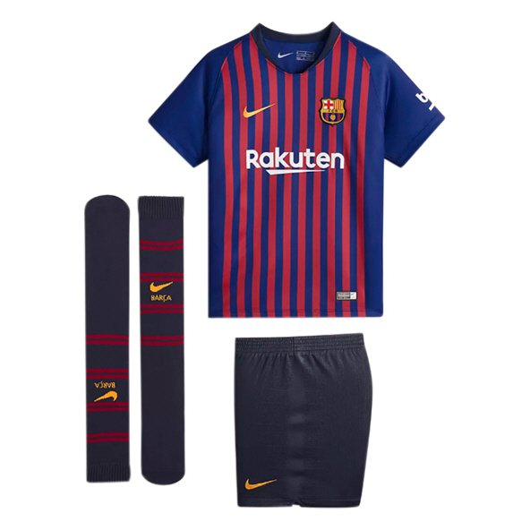 Nike FC Barcelona 2018/19 Home Mini Kit, Blue