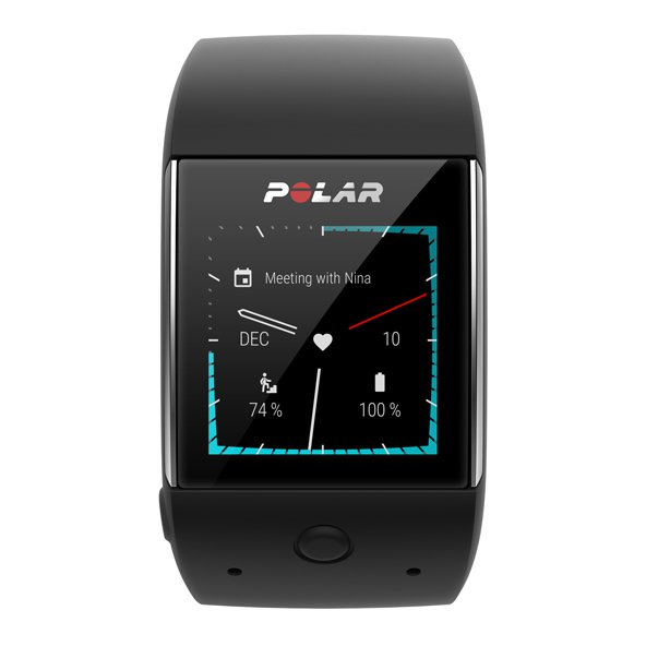 Polar M600 GPS Smartwatch, Black
