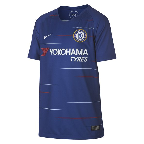 Nike Chelsea 2018/19 Kids' Home Jersey, Blue