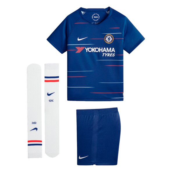 Nike Chelsea 2018/19 Home Mini Kit, Blue