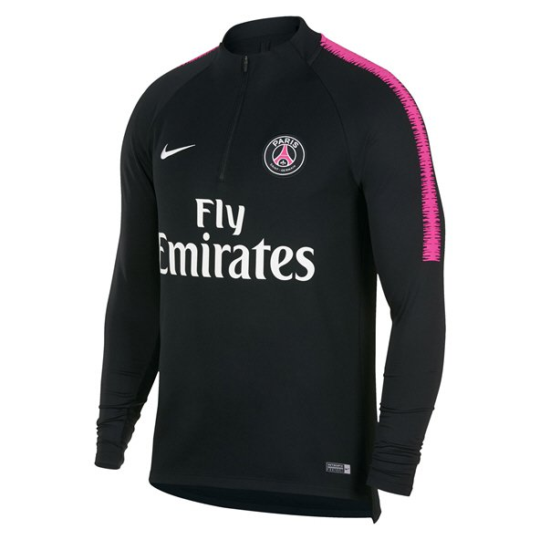 Nike PSG 2018/19 Squad Drill Top, Black