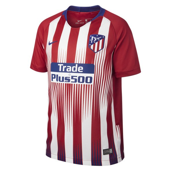 Nike Altetico Madrid 2018/19 Kids' Home Jersey, Red