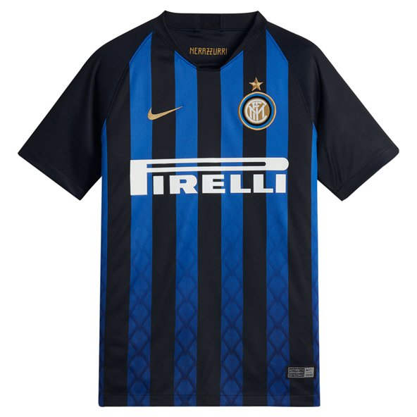 Nike Inter Milan 2018/19 Kids' Home Jersey, Black