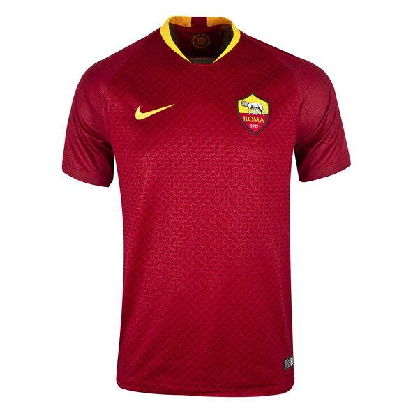 Nike AS Roma 2018/19 Kids' Home Jersey, Red