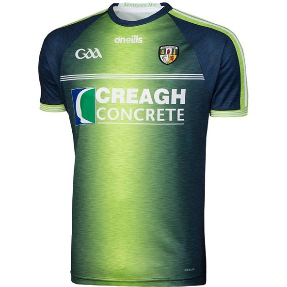 O'Neills Antrim 2018 Kids' Alternative Jersey, Lime