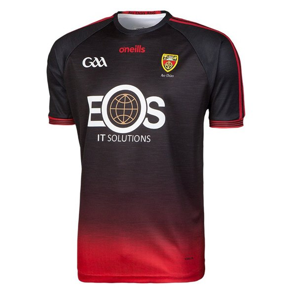 O'Neills Down 18 Away Jersey Black