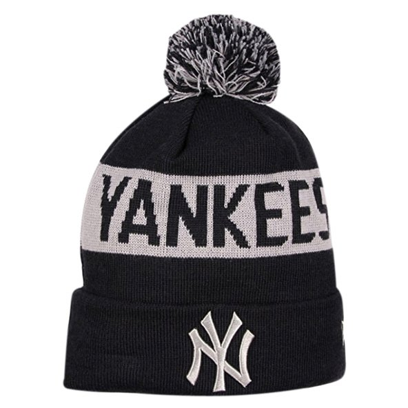 NewEra Tonal Knit NY Yankees Black/Grey