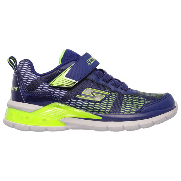 Skechers Erupters II Junior Boys' Trainer, Navy