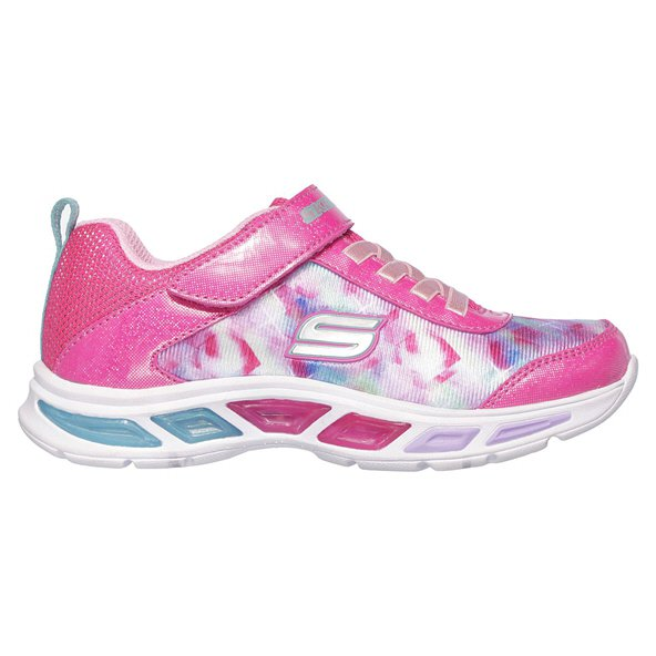 Skechers LiteBeams Infant Girls Trainer, Pink