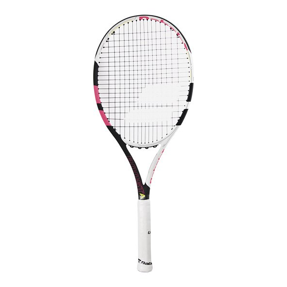 Babolat Boost Aero Tennis Racket, Black/Pink