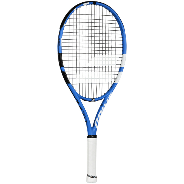 "Babolat Drive Junior 25"" Tennis Racket, Blue"