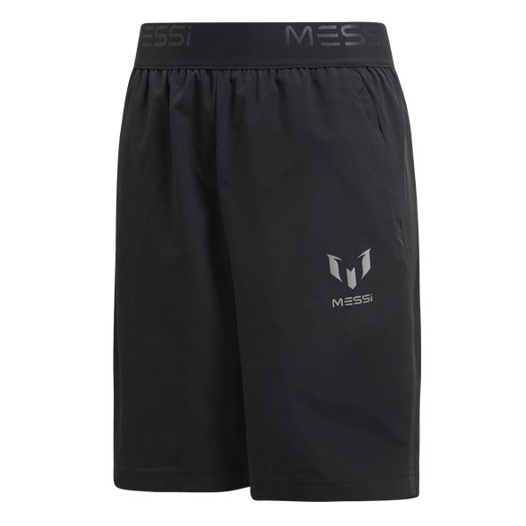 adidas Messi Boys' Woven Short, Black