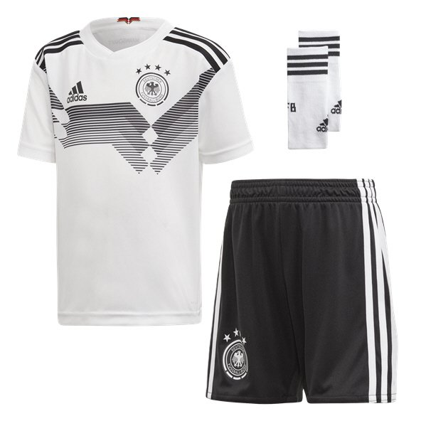 adidas Germany 2018 Home Mini Kit, White