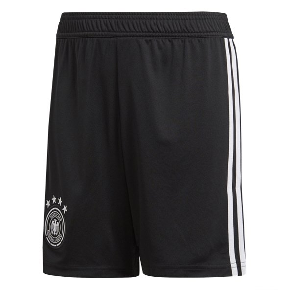 adidas Germany 2018 Kids' Home Short, Black