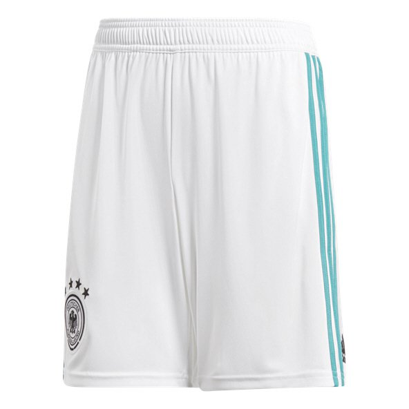 adidas Germany 2018 Kids' Away Short, White