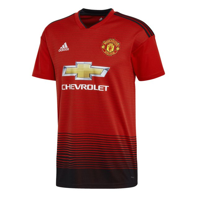 adidas Man United 2018/19 Home Jersey, Red