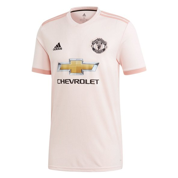 adidas Man United 2018/19 Away Jersey, Pink