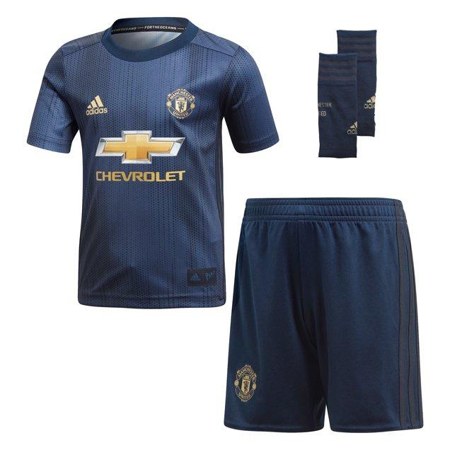 b9da779a7 ... adidas Man United 2018 19 3rd Kids  Kit