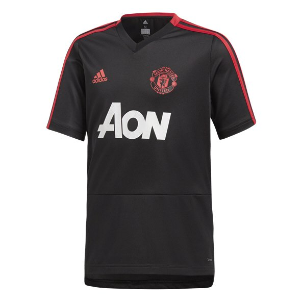 8090b6ec6dc adidas Man United 2018 19 Kids  Training Jersey