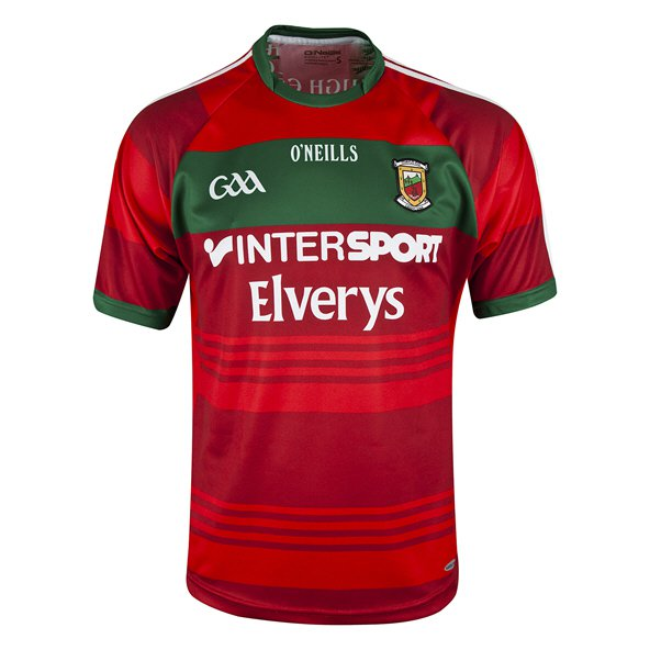 O'Neills Mayo 2017 Away Goalkeeper Jersey, Red
