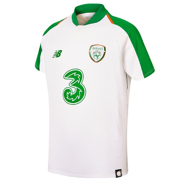 NB FAI 18/19 Away Kids Jersey White