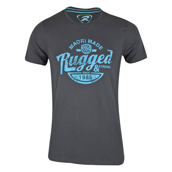 Rugby Tech Rugged Tee Charcoal