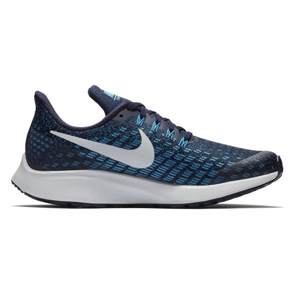 Nike Air Zoom Pegasus 35 Boys' Running Shoe, Blue