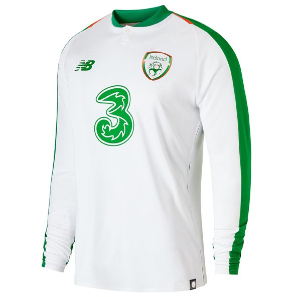 NB FAI 18/19 Away LS Jersey White