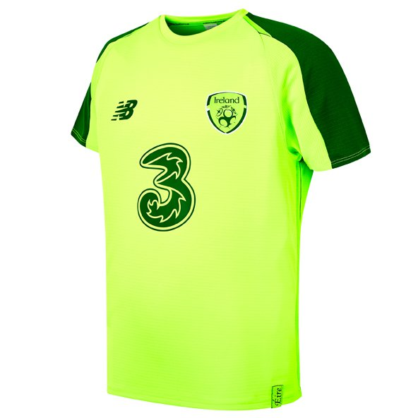 66ef20b94 New Balance FAI Elite Training Matchday Jersey, Lime