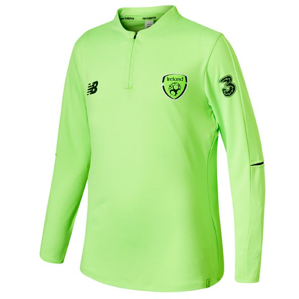 New Balance FAI 18 Training ¼ Zip Mid-Layer Top, Lime