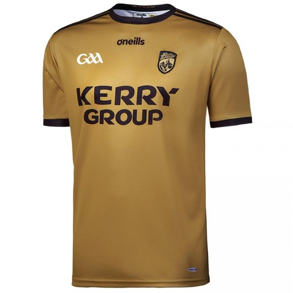 O'Neills Kerry 18 Aw Play Fit Jersey Gld