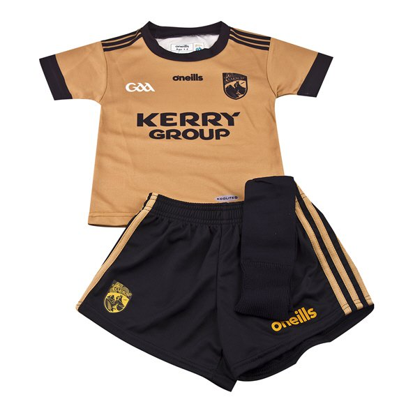 O'Neills Kerry 18 Away Infant Kit Gold