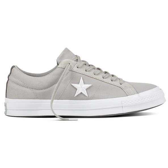 Converse One Star Ox Men's Trainer, Grey