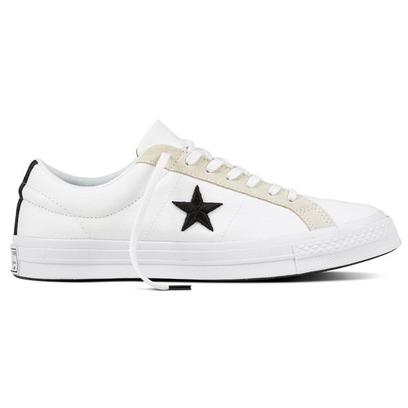 Converse One Star Ox Mens Fw Wht/Blk