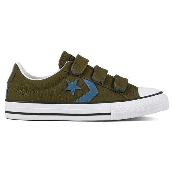Converse Star Player Ox Boys' Trainer, Green