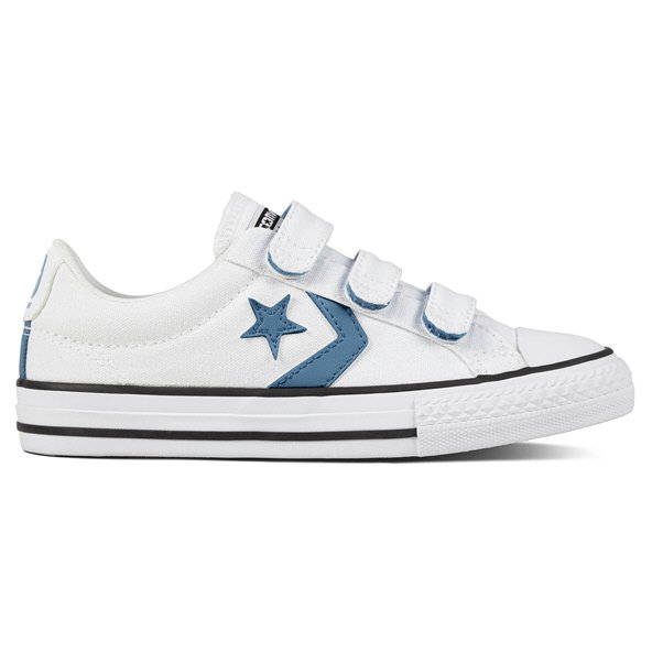 Converse Star Player Ox Boys' Trainer, White