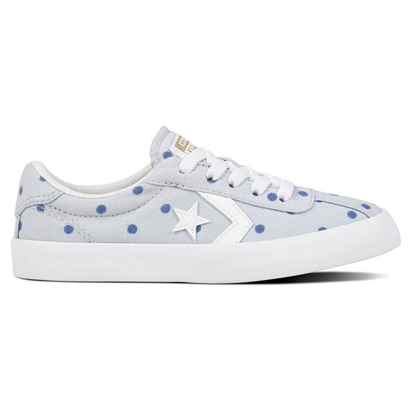 Converse Breakpoint Ox Girls' Trainer, Platinum