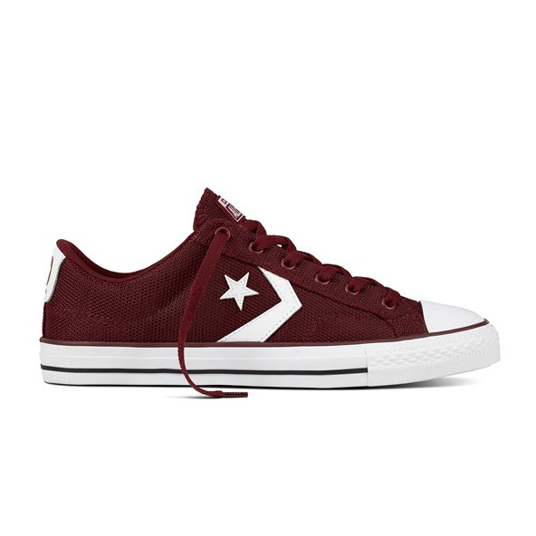 Converse Star Player Ox Men's Trainer, Burgundy