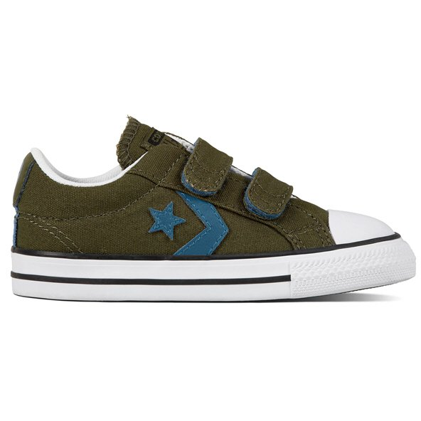 Converse Star Player Ox Infant Boys' Trainer, Green