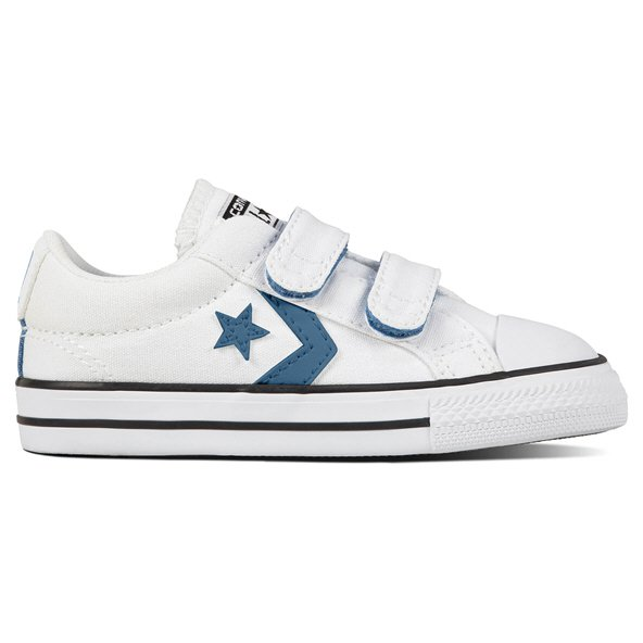 Converse Star Player Ox Infant Boys' Trainer, White