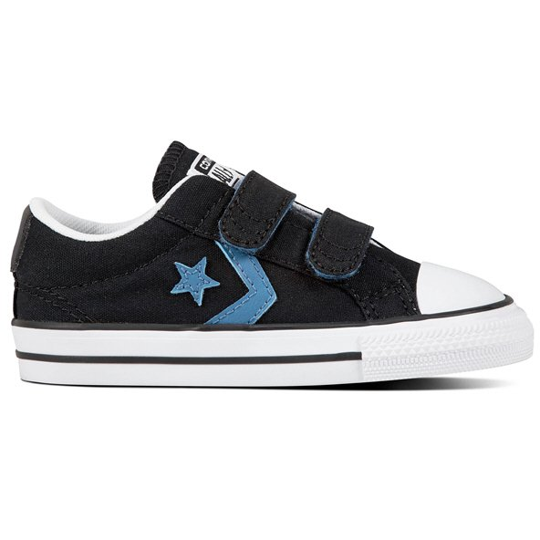 Converse Star Player Ox Infant Boys' Trainer, Black